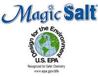 Magic Salt is treated with an EPA Design for the Environment Award.