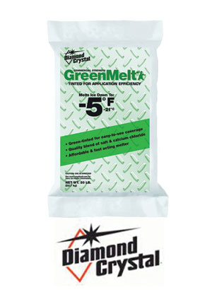 Greenmelt is an effective ice and snow melter.